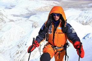 3度目の危機を回避 8千メートル級14座の登頂果たす