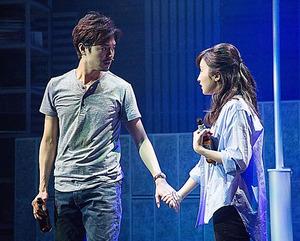 上口耕平(左)、梅田彩佳=神ノ川智早氏撮影