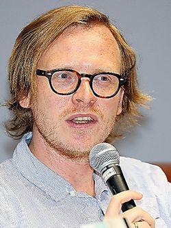 マルクス・ガブリエルさん。1980年生まれ。ボン大教授。共著に『神話・狂気・哄笑』など=いずれも越田省吾撮影