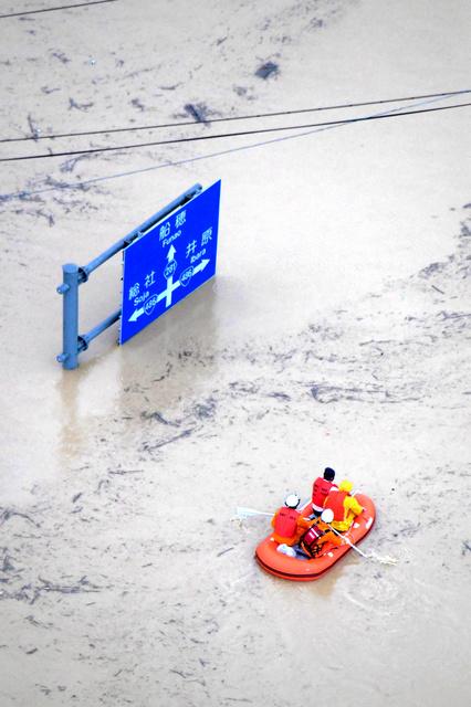 【緊急】岐阜市長良川、氾濫  [715699708]YouTube動画>4本 ->画像>73枚