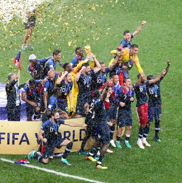 フランス、2度目のW杯王者 クロアチアに4―2 - 2018ワールドカップ ...
