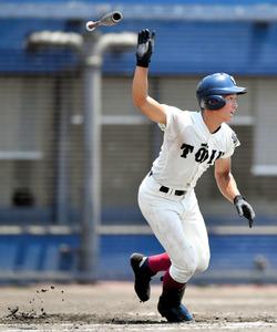「これが日本一の走塁か」大阪桐蔭・藤原、勝利導く激走
