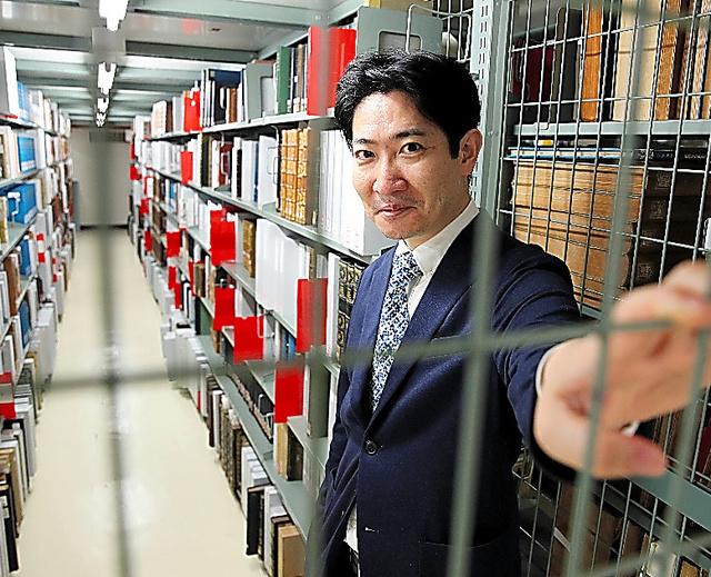 歴史学者の磯田道史さん