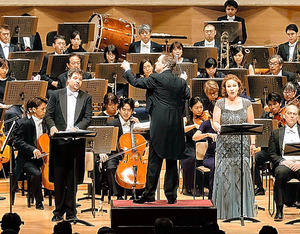 東京交響楽団「ゲロンティアスの夢」=池上直哉氏撮影