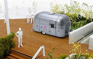 9日に銀座にオープンするサテライトスタジオの模型(C)Ginza Sony Park Project