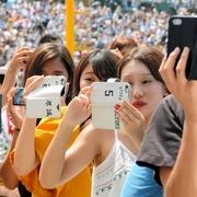 甲子園で「うますぎる」応援歌ソロ、観客も思わず撮影
