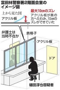 容疑者逃走、面会室ブザー作動せず 富田林署が電池抜く