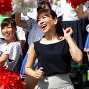 「タッチ」歌った岩崎良美さん、アルプス席で興奮