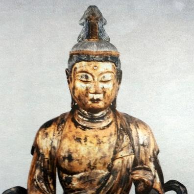 きつい顔で戻った仏像 はがれた金箔、盗品発覚恐れたか