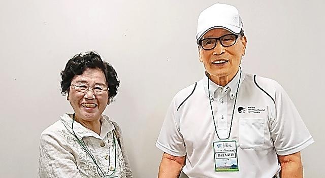 中西さん(右)と宮浦さん
