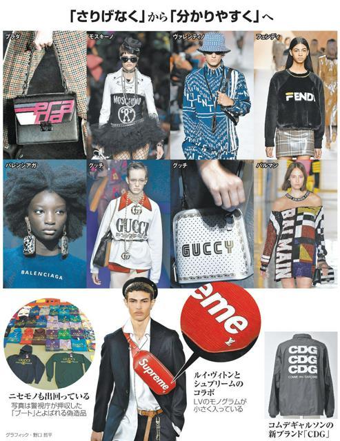 aed4f7e688b7 (文化の扉)ブランドロゴ、再び前面 一目で差別化、SNS映えで若者に人気:朝日新聞デジタル