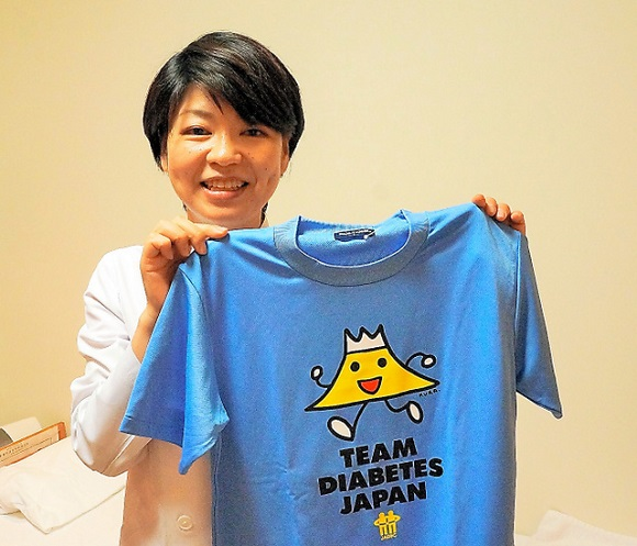 糖尿病だからといって「限界はない」と呼びかける、医師でTEAM DIABETES JAPAN代表の南昌江さん
