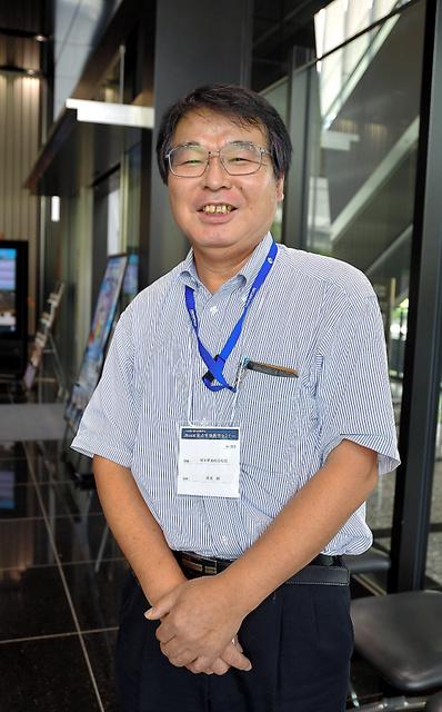 イグ・ノーベル賞を受けた堀内朗さん=東京都中央区、東山正宜撮影