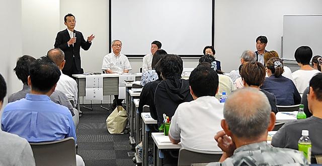 全国再非行防止ネットワーク協議会の設立集会には約100人が参加した=8月17日、名古屋市