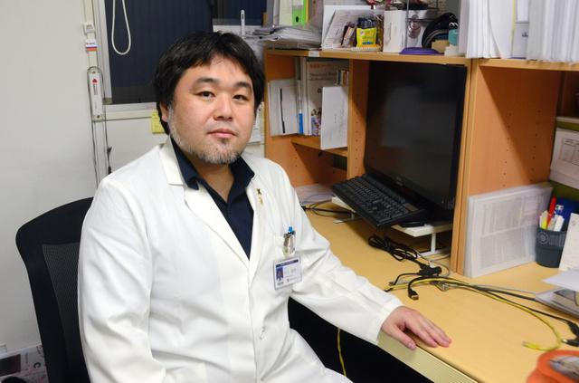 慶応大学病院循環器内科の川上崇史特任講師=東京都新宿区