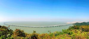 香港・マカオを橋で結ぶ 世界最長、総工費もすごい