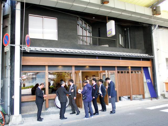 商店街のすし店を改装した「4S STAY阿波池田駅前」=三好市池田町