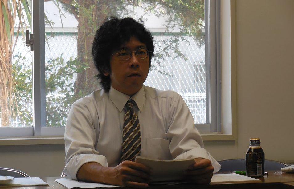 福島大学准教授の林薫平(はやし・くんぺい)さん