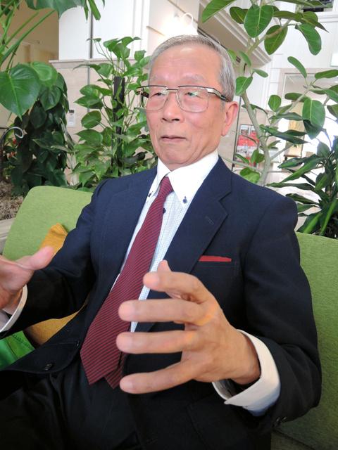 「現役時代の名声だけでスポーツ界の重鎮になれる組織構造を変えないと、日本スポーツの改革にならない」と話す河田弘道さん