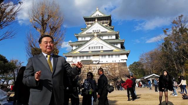 慶喜が徹底抗戦していたら 徳川宗家子孫と大阪城を歩く:朝日新聞デジタル