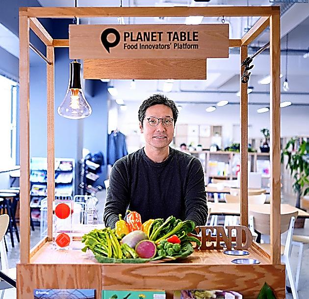 プラネット・テーブルの社長・菊池紳さん