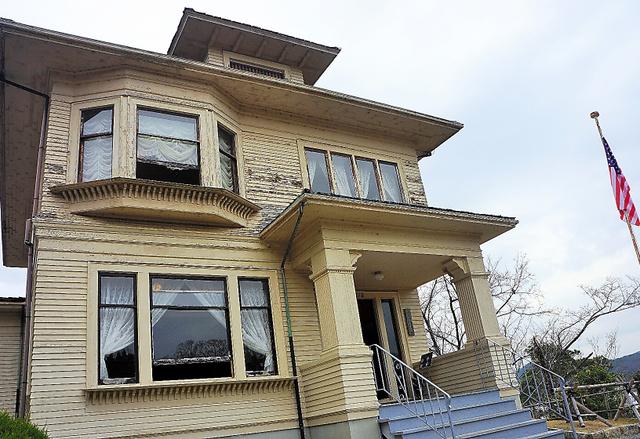 米シアトルで日系移民の家族が住んだ住宅=愛知県犬山市
