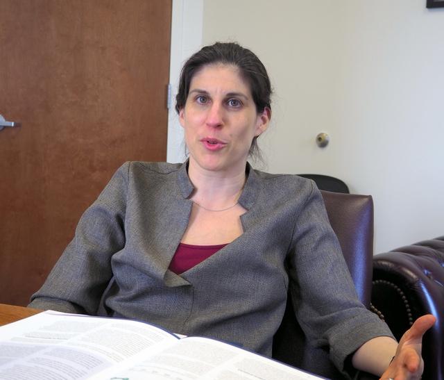 米人権NGO「フリーダムハウス」上級部長のサラ・レプッチ氏