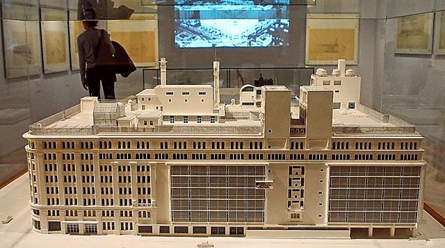 1965年制作の模型=東京・日本橋の高島屋