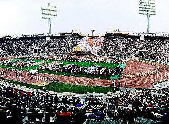 モスクワ五輪の開会式