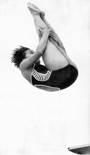 1978年の国体で優勝した山中理貴子