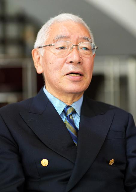 川島裕さん。侍従長としての日々は「象徴天皇の定義がつくられていく過程を見るようでした」と話した=鬼室黎撮影