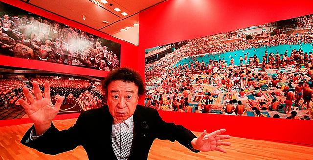 「写真力」展の東京会場でもシノラマ作品が人気
