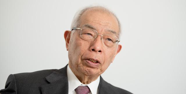 がん治療の歴史を振り返る垣添忠生さん=諫山卓弥撮影