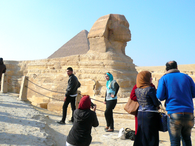 エジプトのスフィンクス