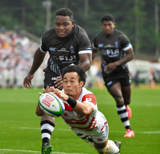 ラグビー日本代表、フィジーに快勝 今季初戦で5トライ , 一般