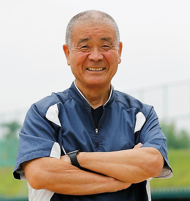 智弁和歌山の高嶋仁前監督=槌谷綾二撮影