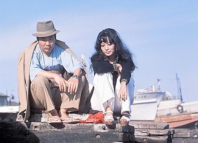 寅さんとリリーは自分たちの人生をはかない「あぶく」にたとえた=シリーズ第11作「寅次郎忘れな草」(1973年8月)、松竹提供