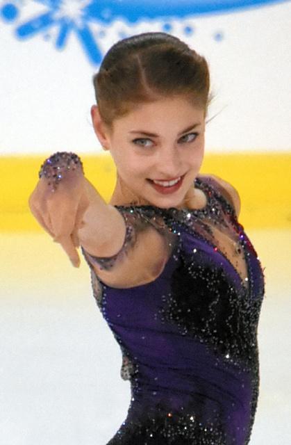ロシア女子フィギュア選手の「ストリップ」に大反響 外国選手