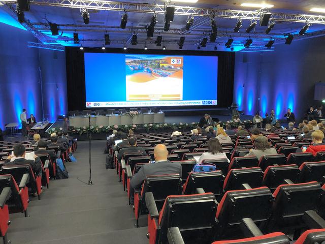 昨年11月にポルトガルのリスボンで開催された「ABC5」のメイン会場。筆者も参加しました。