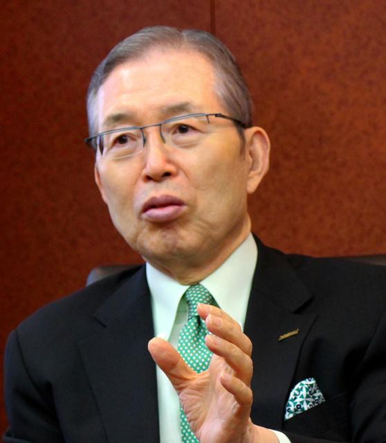 日本電産の永守重信会長=京都市