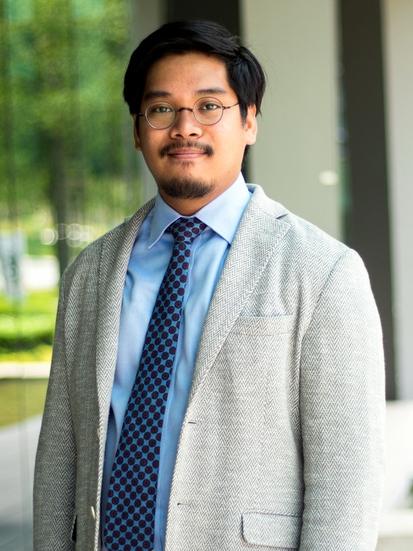 マレーシア戦略国際問題研究所のハリス・ザイヌル研究員(本人提供)