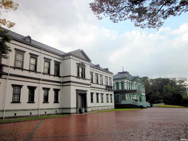 移転先の金沢にオープンした国立工芸館=金沢市