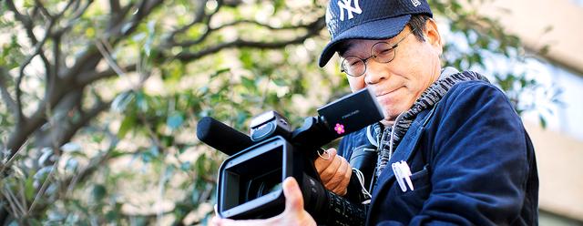 コロナ禍や昨夏の熊本県の水害で上映会が遅れている。「水俣の人たちに早く見てもらいたい」=川村直子撮影
