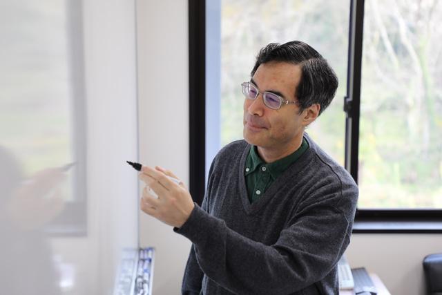 京都大数理解析研究所の望月新一教授=京大提供