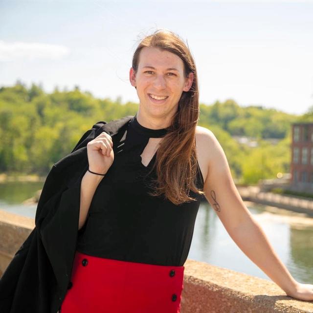 バーモント州下院議員に当選したトランスジェンダー女性のテイラー・スモール氏=本人提供