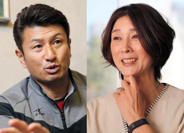 畑喜美夫さん(左)と益子直美さん