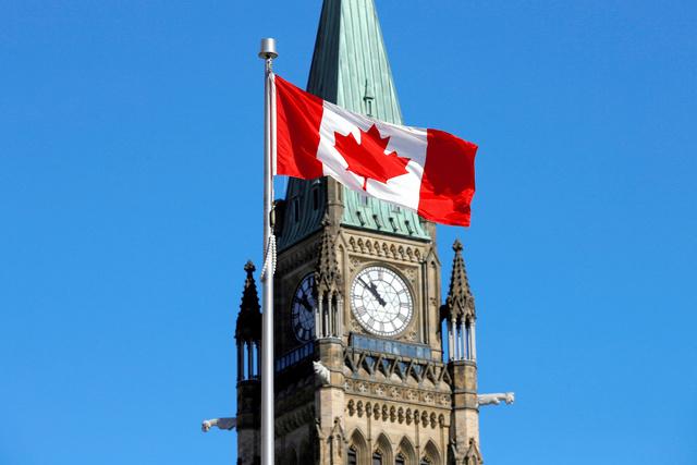 カナダ連邦議会の平和の塔=ロイター