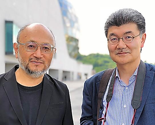 豊田泰久さん(左)と石合力さん(右)