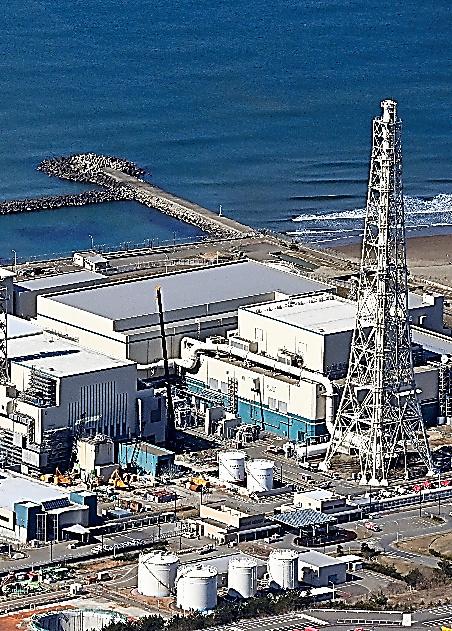 東京電力柏崎刈羽原子力発電所=2021年3月、朝日新聞社機から、迫和義撮影