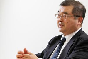 写真:三菱商事ユニメタルズ株式会社 CIO兼情報システム室長 大三川越朗氏